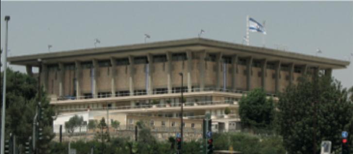 Knesset, o Parlamento Israelense